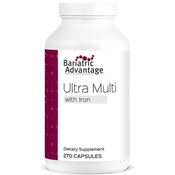 Multi-Formula Ultra Capsule with Iron 270 ct (Bariatric Advantage)