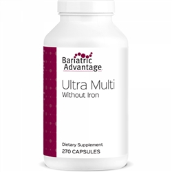Multi-Formula Ultra Capsule WITHOUT Iron 270 ct (Bariatric Advantage)