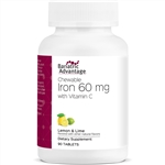 Iron - 60 mg (90 count) (Bariatric Advantage)